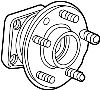 Wheel Bearing and Hub Assembly image for your Jaguar